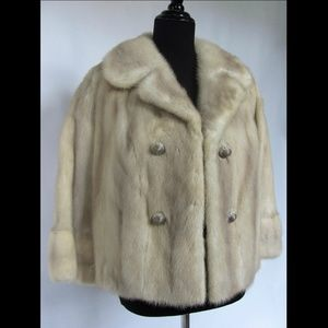 Luxury Vintage Mink Fur Jacket